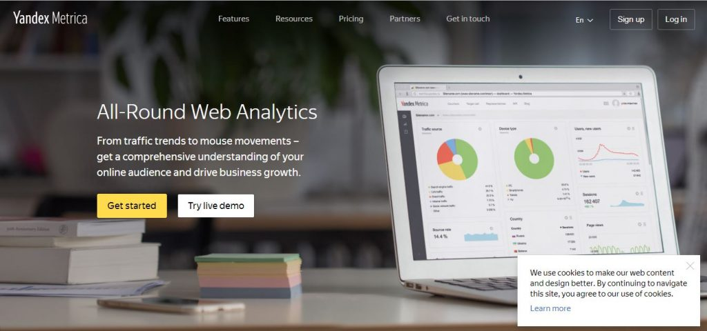 Herramienta de analítica alternativa Google Analytics